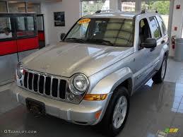 liberty jeep 2005 2005 bright silver metallic jeep liberty limited 4x4 67271320