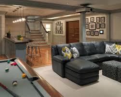 basement game room designs trendy finished basement game room