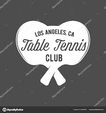 los angeles table tennis club table tennis ping pong label stock vector nappelbaum 170479270