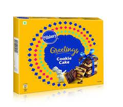 Pillsbury Cookie Cake Greeting Pack 276g 12 Single Packs Inside