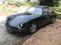 1968 porsche 911 targa for sale 1968 porsche 911l 911 4 speed window targa barn find starts