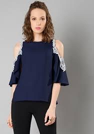 Shoulder Top - trendy tops buy tops tops india faballey