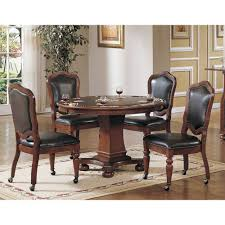 faran game table and 4 chairs dining sets dining bernie