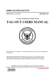 joint fleet maintenance manual s0400 ad urm 010 tum revision 7 tag out users manual united