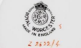 Image result for dating royal worcester backstamp marks