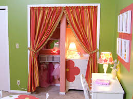 Curtain For Girls Room Closet Curtain Designs And Ideas Hgtv