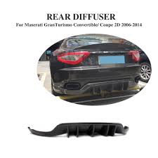 maserati door rear bumper diffuser lip spoiler fit for maserati granturismo