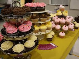 tiered cupcake stands and serving trays av party rental