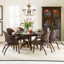 round dining table set with leaf foter
