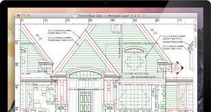 Professional Floor Plan Software Macdraft Professional 2d Cad For Mac Microspot Ltd