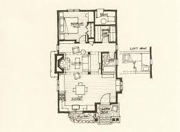 cabin floor plan storybook cabin plan mountain architects hendricks architecture