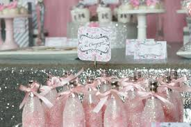 pink and silver baby shower pink silver bridal shower