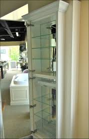 furniture awesome white wood storage cabinets with doors tall