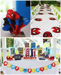 amazing spider man birthday party popsugar moms