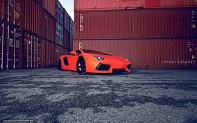 Lamborghini Aventador Side View - download wallpaper lamborghini aventador orange side view free