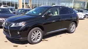lexus rx price canada 2015 lexus rx 350 awd black on parchment technology package