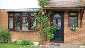 replacing part bow windows and composite door polar glaze