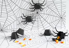 halloween spider geometric spider kit set of 6 diy