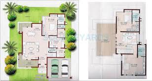 villa plans 3 bhk 2600 sq ft villa for sale in prestige ozone at rs 12254 0 sq