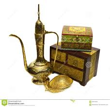 still with indian cultural objects 2 stock photo image