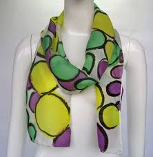 mardi gras scarves mardi gras silk scarf thing a day forever