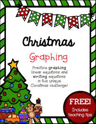 help with christmas christmas challenge graphing linear equations practice free