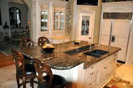 kitchen granite island see the kitchen countertops overhang muruga me