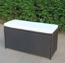 Patio Storage Chest by Furniture Rubbermaid Outdoor Patio Storage Bench Cu Ft Outdoor