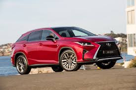lexus crossover turbo lexus adds f sport and sport luxury variants to rx turbo line up