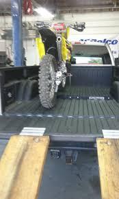 motocross race van how do you load your bike s in the back of your van moto