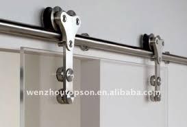 Barn Door Closet Hardware Stainless Steel Glass Sliding Barn Door Closet Hardware Set Buy