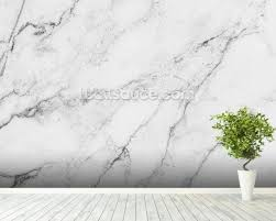 white marble black and white marble wallpaper wall mural wallsauce usa