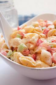 Cold Pasta Salad Recipe Cold Seafood Salad Recipe Real Caribbean Foods