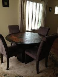 slate dining table set slate dining table offerup dania african slate dining table w