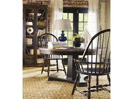 hooker furniture sanctuary 3 piece pedestal table u0026 windsor chair