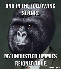 Gorilla Munch Meme - gorira munch meme generator and in the following silence m flickr