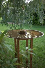 bird baths mallee design