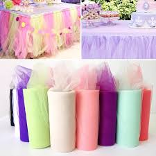 Plastic Table Runners Tulle Table Runner Modern Home