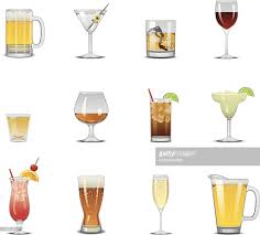 cocktail icon vector drink icons vector art getty images