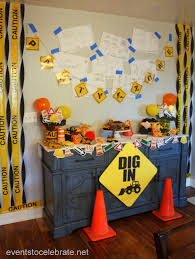 construction birthday party construction birthday party ideas events to celebrate
