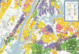 Map Of Manhattan Neighborhoods Fascinating Maps Show Where The Most And Least Diverse Parts Of