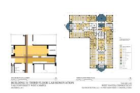 Yale University Art Gallery Floor Plan by Advanced Biosciences Center Yale University West Campus Tlb