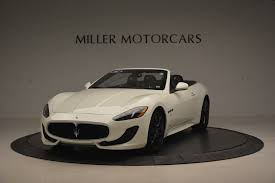 maserati granturismo 2014 2014 maserati granturismo sport stock 7196a for sale near