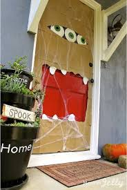 Door Decorations For Halloween Door Decorations My Home A Blog From M I Homes
