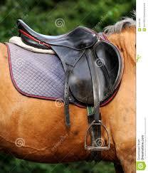 Horse Saddle by Close Up Of Horse Saddle Stock Photo Image 45355158