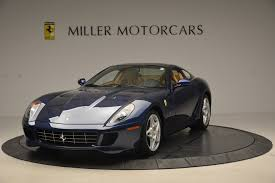 ferrari dealership showroom 2007 ferrari 599 gtb fiorano gtb fiorano f1 stock 4405a for sale