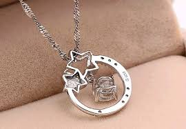 love star necklace images Korean my love from the star christmas gifts bijoux jewelry wish jpg