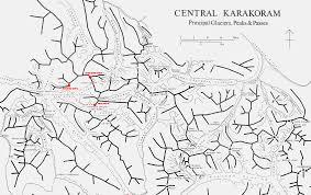 Pakistan Map Blank by Karakoram Karakorum D U0027himalaya D U0027indu Kush Kouch Pakistan
