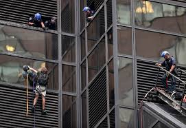 police grab man climbing trump tower in new york city wtop