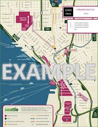 tcc south cus map custom seattle map visit seattle